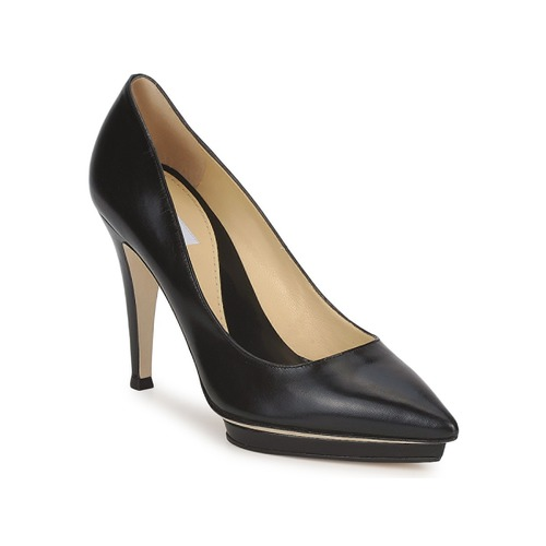 Shoes Women Heels Moschino CLASSIC HEART Black