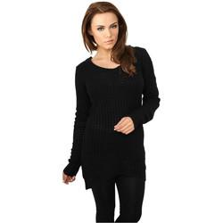 Clothing Women Sweaters Urban Classics Sweatshirt femme Urban Classic long noir