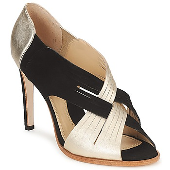 Shoes Women Heels Moschino MINEK Black / Golden