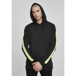 Clothing Men Tracksuits Urban Classics Sweatshirt Urban Classic neon Striped noir/jaune pâle