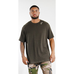 Clothing Men Short-sleeved t-shirts Sixth June T-shirt  logo épaule kaki