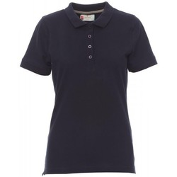 Clothing Women Short-sleeved polo shirts Payper Wear Polo femme Payper Venice bleu marine