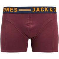 Underwear Men Boxer shorts Jack & Jones Lot de 3 Boxer  Jaclichfield rouge bordeaux