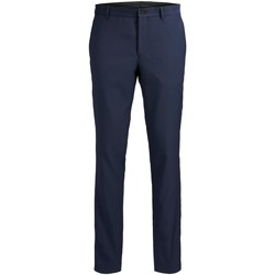Clothing Men Formal trousers Jack & Jones Pantalon  Solaris bleu foncé