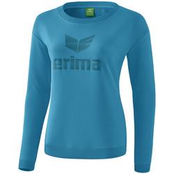 Clothing Women Long sleeved tee-shirts Erima Sweat-shirt femme  Essential bleu clair/bleu