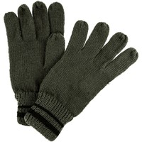 Clothes accessories Men Gloves Regatta Men's Balton II Knitted Gloves Green