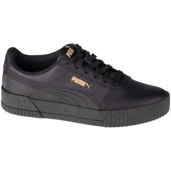 Shoes Women Low top trainers Puma Carina L Black