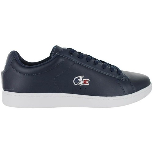Shoes Men Low top trainers Lacoste Carnaby Navy blue