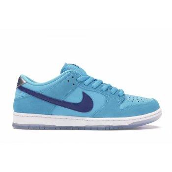 Shoes Low top trainers Nike SB Dunk Low Blue Fury  Blue Fury/Deep Royal-Blue Fury