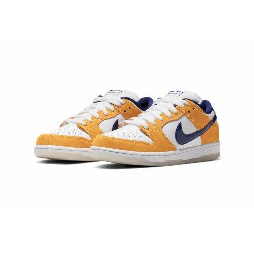 Shoes Low top trainers Nike Air Force 1 high x Comme des Garçons White/Regency Purple-Laser Orange