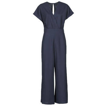 Clothing Women Jumpsuits / Dungarees Esprit OVERALLS KNITTED Blue