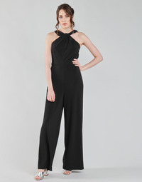 Clothing Women Jumpsuits / Dungarees Esprit OVERALLS KNITTED Black