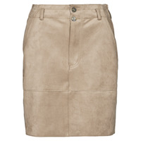 Clothing Women Skirts Esprit SKIRTS WOVEN Beige