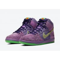 Shoes Hi top trainers Nike SB Dunk High 420 Reverse Skunk  University Red/Spinach Green/Magic Ember