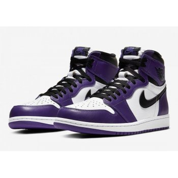Shoes Hi top trainers Nike Air Jordan 1 Court Purple 2.0 Court Purple/White-Black