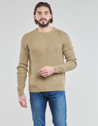 Clothing Men Jumpers Jack & Jones JORFUEL Beige