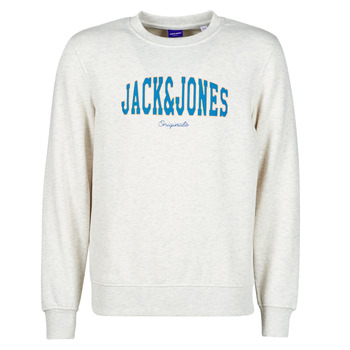 Clothing Men Sweaters Jack & Jones JORHART White