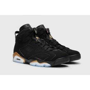 Shoes Hi top trainers Nike Air Jordan 6 DMP Black / Metallic Gold
