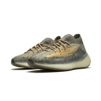 Shoes Low top trainers adidas Originals Yeezy Boost 380 Mist Mist/Mist-Mist