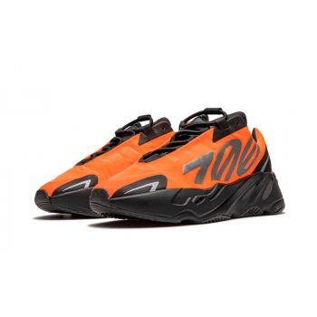 Shoes Low top trainers adidas Originals Yeezy Boost 700 MNVN Orange Orange/Orange/Orange