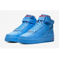 Shoes Hi top trainers Nike Air Force 1 High x Don C University Blue/University Blue