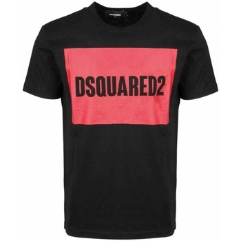 Clothing Men Short-sleeved t-shirts Dsquared S74GD0720S22427_900black black