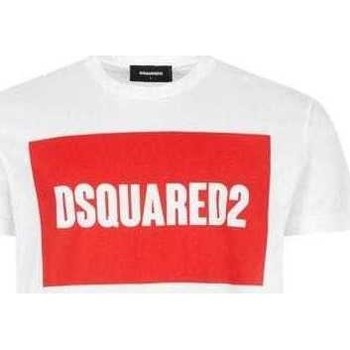 Clothing Men Short-sleeved t-shirts Dsquared S74GD0720S22427_100white white