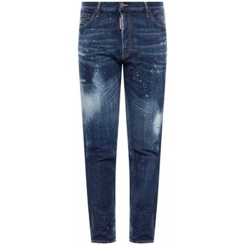 Clothing Men Slim jeans Dsquared S74LB0672S30342_470stonewash blue