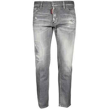 Clothing Men Slim jeans Dsquared S74LB0693S30266_852charcoal grey