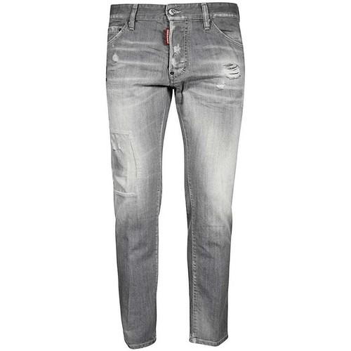 Clothing Men Slim jeans Dsquared S74LB0693S30266_852charcoal grey