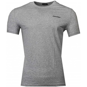 Clothing Men Short-sleeved t-shirts Dsquared D9M203050_030grey grey