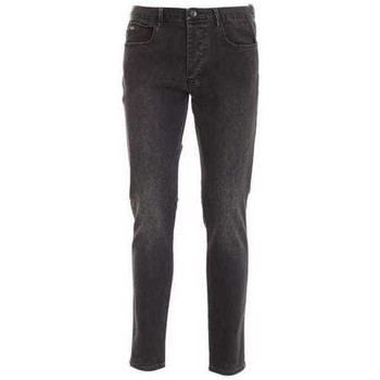 Clothing Men Slim jeans Armani 6H1J111DHDZ_0006charcoal grey