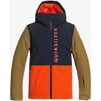 Clothing Children Jackets Quiksilver Chaqueta para Nieve para Niños 8-16 Side Hit EQBTJ03116 Blue