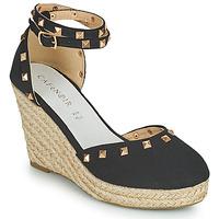 Shoes Women Sandals Café Noir NOEL Black