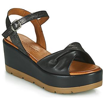 Shoes Women Sandals Café Noir HOLISTA Black