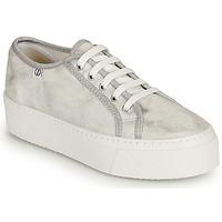 Shoes Women Low top trainers Yurban SUPERTELA Silver