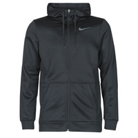 Clothing Men Sweaters Nike TF HD FZ Black / Grey