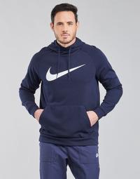 Clothing Men Sweaters Nike DF HDIE PO SWSH Blue / White