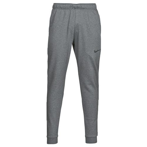 Clothing Men Tracksuit bottoms Nike DF PNT TAPER FL Grey / Black