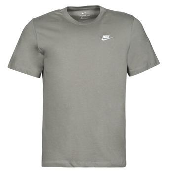 Clothing Men Short-sleeved t-shirts Nike NSCLUB TEE Kaki