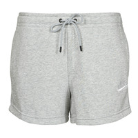 Clothing Women Shorts / Bermudas Nike NSESSNTL FLC HR SHORT FT Grey / White