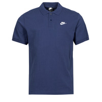 Clothing Men Short-sleeved polo shirts Nike NSSPE POLO MATCHUP PQ Marine / White