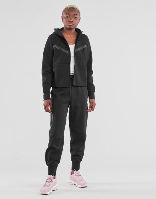 Clothing Women Tracksuit bottoms Nike NSTCH FLC ESSNTL HR PNT Black