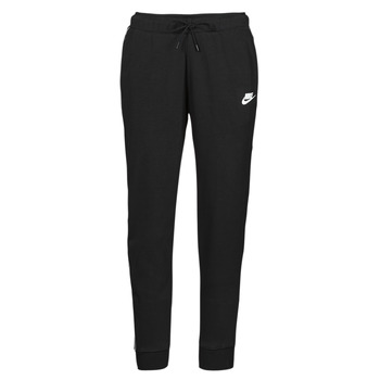 Clothing Women Tracksuit bottoms Nike NSMLNESSNTL FLC MR JGGR Black / White
