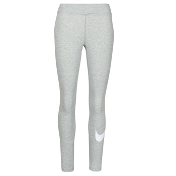 Clothing Women Leggings Nike NSESSNTL GX MR LGGNG SWSH Grey / White