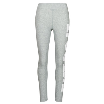 Clothing Women Leggings Nike NSESSNTL GX HR LGGNG JDI Grey / White