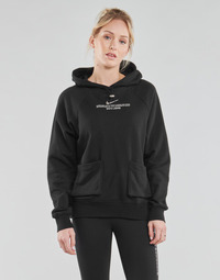 Clothing Women Sweaters Nike NSSWSH HOODIE FT Black / White