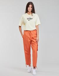 Clothing Women Tracksuit bottoms Nike NSICN CLASH PANT CANVAS HR Brown / Orange