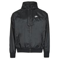 Clothing Men Macs Nike NSSPE WVN LND WR HD JKT Black / White