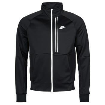 Clothing Men Track tops Nike NSTE N98 PK JKT TRIBUTE Black / White